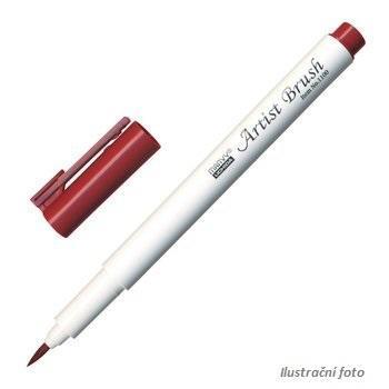 Marvy Artist Brush Popisovač  - Anglická červená
