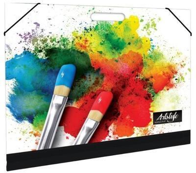 Desky na výkresy A3 s gumou - Watercolor