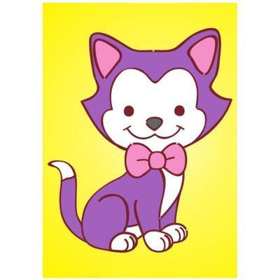 Obrázek pro pískování 23x33 cm - Kočička