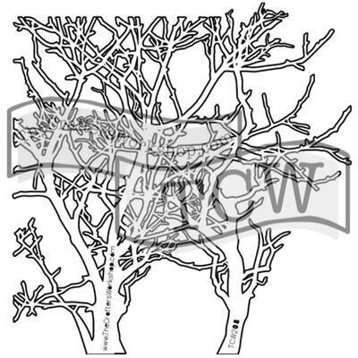 """Šablona TCW 12""""x 12"""" Branches"""