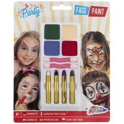 Barvy na obličej, 4 barvy - 1