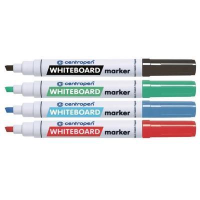 Značkovač WHITEBOARD Marker na bílé tabule  Sada 4 ks - 1