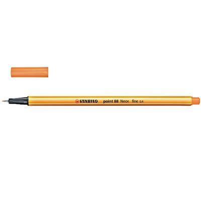 Stabilo Point 88/054 - fluorescentní oranž - 0,4 mm