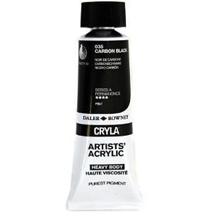 Daler & Rowney Cryla A 75 ml - carbon black 035 - 1