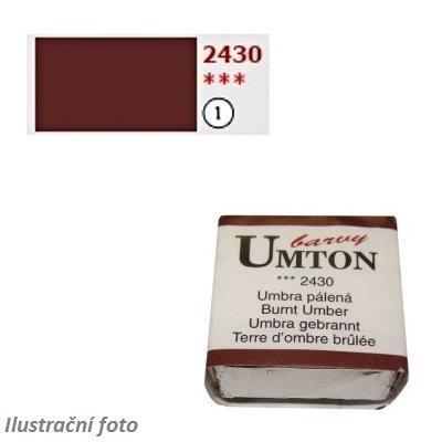 Akvarelová barva 2,6ml - Umbra pálená/ 1 - 1