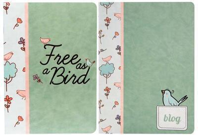 BIRDS sešit /A4 - linkovaný