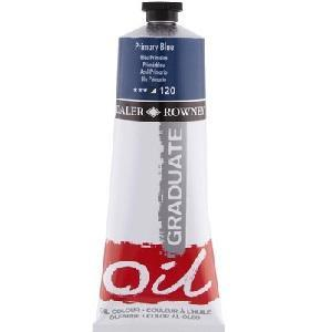 Daler & Rowney Graduate Oil 38 ml - primary blue 120 - 1