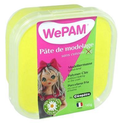 Modelovací hmota WePAM 145 g - neonová žlutá