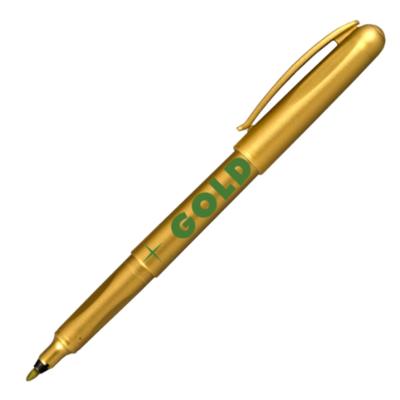 Popisovač Centropen M 2670  1,0 mm - zlatý