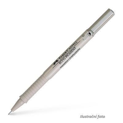 Faber-Castell Popisovač ECCO PIGMENT - 0,1mm černý - 1