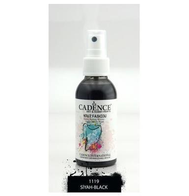 Textilní sprej Cadence 100 ml, černá