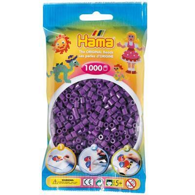 Hama MIDI Zažehlovací korálky 1000 ks - fialové