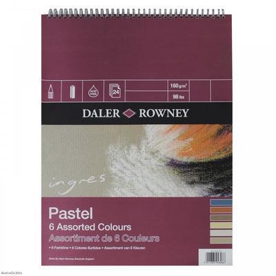 Daler & Rowney Blok Ingres Pastel  A3 160 g/m2, 24 listů