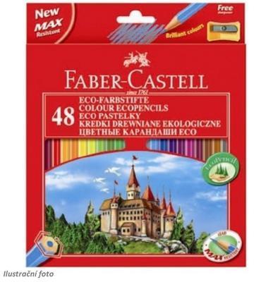 Faber-Castell Pastelky ECO - 48 barev + ořezávátko