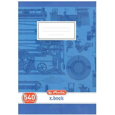 Školní sešit A5 540, bezdřevý čistý - 40 listů