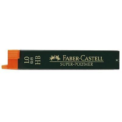 Faber-Castell Grafitové Tuhy SUPER POLYMER do mikrotužky - 1,0 mm, HB