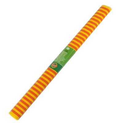 Koh-i-noor Krepový papír 9755/66 - pruhovaný červeno žlutý