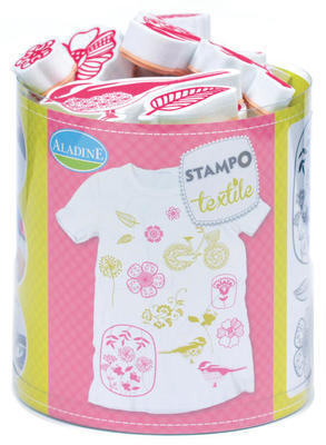 StampoTextile - Kytičky, 15ks - 1