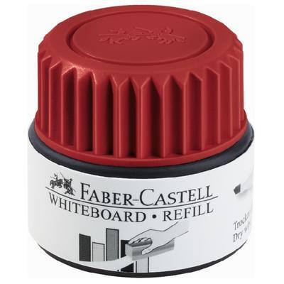 Faber-Castell Náplň GRIP Whiteboard 1584 do značkovačů Whiteboard - 25 ml červená - 1