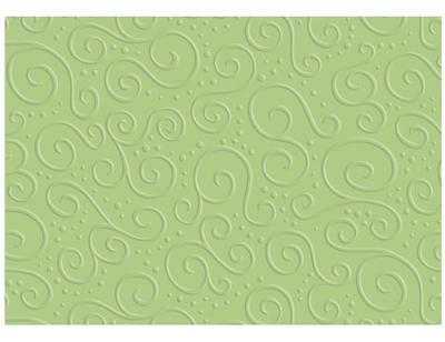 Karton s reliéfem Milano A4, 220 g/m2 - pistáciově zelený