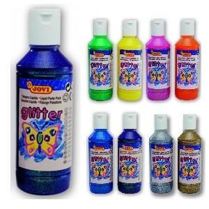 Jovi Temperové barvy glittrové 250 ml - fialová - 1