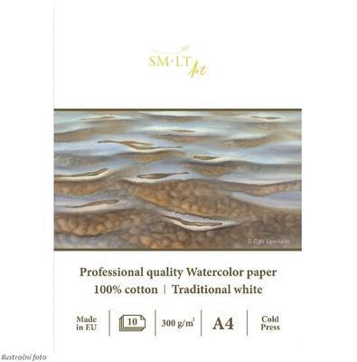 SMLT Blok Akvarel Cotton A4, 300 g/m2, 10 listů