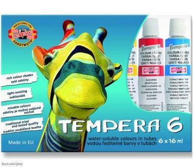 Koh-i-noor Temperové barvy - 6 x16 ml - 1