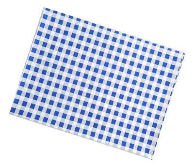Ubrus na lavici 65x50 cm - modré kostky