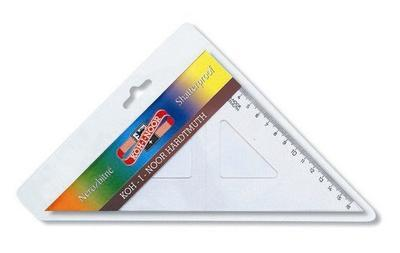 KOH-I-NOOR Trojúhelník 45/177 s kolmicí - nezlomitelný