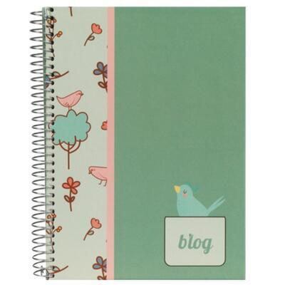 BIRDS - Kroužkový zápisník /A5 - linkovaný - 1