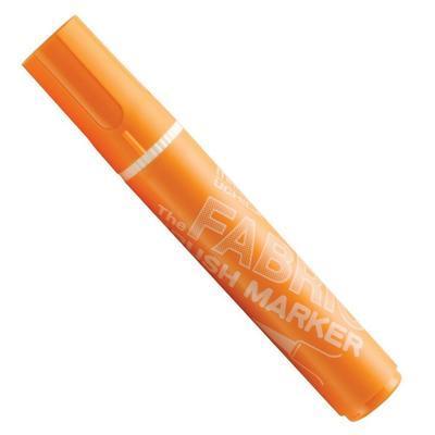 Marvy Popisovač na textil nezažehlovací - Orange - 1