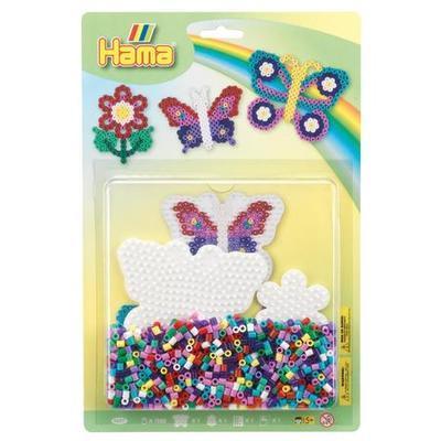 Hama Midi Korálkový set - Motýl a květina - 1