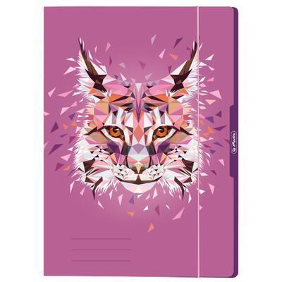 Desky s gumou A4  Wild Animals - Rys