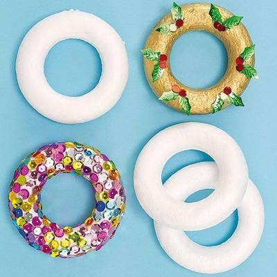 Polystyrenové kroužky - 9cm - 1