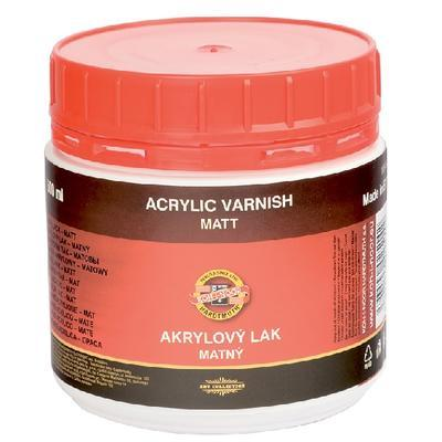 Lak akrylový matný - 500 ml