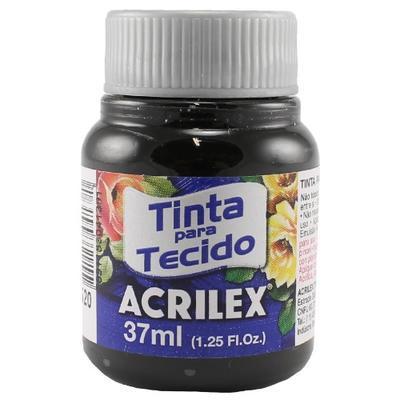 Acrilex Barva na textil 37ml - černá 520 - 1
