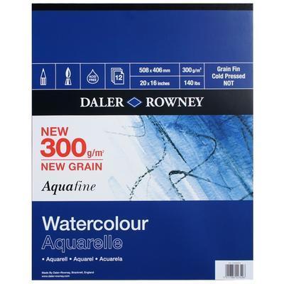 Daler & Rowney Skicák Aquafine - 508x406 mm, 12 listů