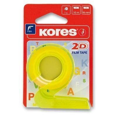 Lepicí páska KORES 2D - 19mm x 10m - 1