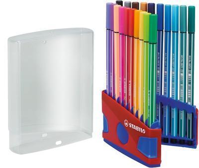Stabilo Pen 6820-04  ColorParade Sada fixů 1 mm, 20 ks - 1