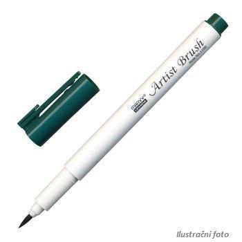 Marvy Artist Brush Popisovač  - lahvově zelená