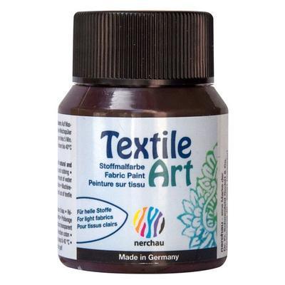 Textile Art 59 ml barva na světlý textil - hnědá - 1