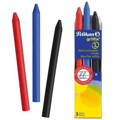 Pelikan Náplň vosková do tužky Griffix 1 - 3 barvy  - 1