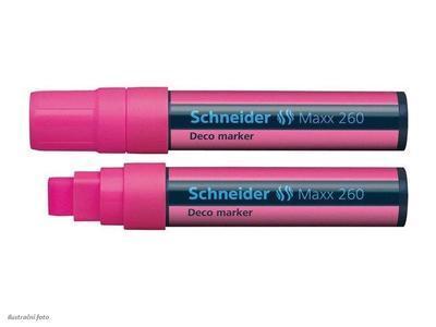 Křídový popisovač Schneider Maxx 260 - růžový - 1