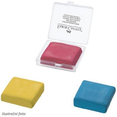Faber-Castell Stěrací pryž umělecká - červená, žlutá, modrá, v plastové krabičce - 1