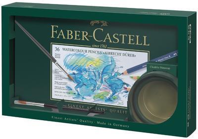Faber-Castell Pastelky Albrecht Dürer Dárkové balení - 36ks + štětec + kelímek Clic&Go - 1