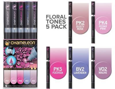 Chameleon Color Tones - 5 ks, Floral Tones - 1