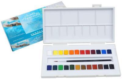 Sennelier Akvarelové barvy - 24ks - 1