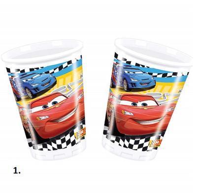 Plastové kelímky 0,25 l 8 ks - Walt Disney - 1