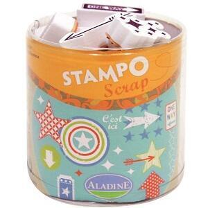 StampoScrap - Šipky a hvězdy - 1