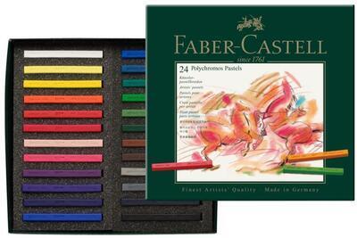 Faber-Castell Pastely Polychromos umělecké křídy - 24ks - 1